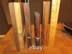 Lot of 27 Antique wood Moulding Trim Planes woodworking tools misc parts pieces
