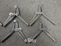 Lot of 6 Hartford Mitre Clamps lightly used tools woodworking trim carpentry