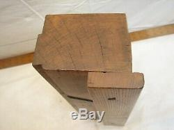 Massive Antique 4 X 15-1/4 Infill Panel Plane Raiser Woodworking Wood Tool
