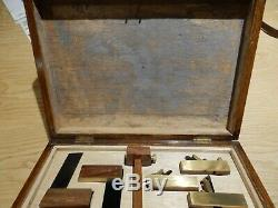 Miniature Woodworking Tools In Old Cutlery Box Unfinished Project