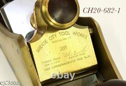 Minty clean CT 10 LOW ANGLE BRIDGE CITY TOOLS woodworking plane limited edition