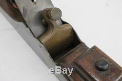 NORRIS 16 1/2 Steel & Rosewood Vintage Carpentry Woodworking Jointer Plane