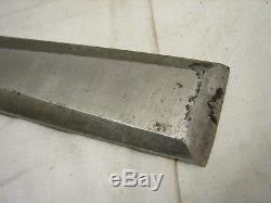 Nice Stanley 1-1/4 720 Bevel Edge Socket Chisel Woodworking Carving Wood Tool