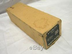 Nice Vintage Stanley No. 65 Low Angle Block Plane Woodworking Tool withBox