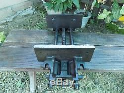 OLD WILTON 10'' JAW UNDER BENCH WOODWORKING VISE 10'' OPENING No. W-9-64