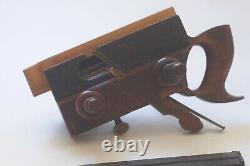 Ohio Tool Co No. 97 Wooden Plow Plane with Original Blades Antique Woodworking