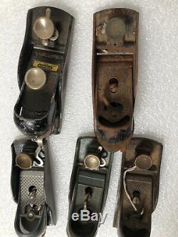 Old Used Vintage Stanley Tools Woodworking Block Plane
