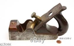 Old time SPIERS AYR INFILL SMOOTHER woodworking plane as found