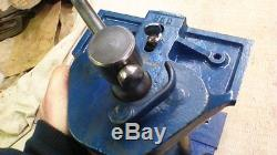 Older Record 52d Quick Release Woodworking Bench Vise Made In England Nice