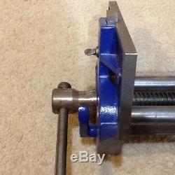 Original Record 52 1/2 Made In England Woodworking Vise Quick Release
