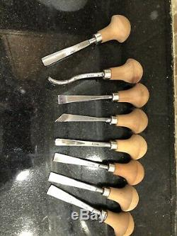 Pfeil swiss made carving tools Set Of 8