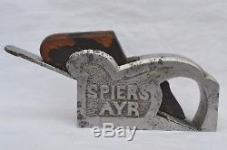 RARE Antique Spiers Ayr No 11 Bullnose plane Wood Woodworking Tools Plane