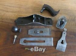 RARE Antique Vintage TYPE 3 Stanley No 3 (1872-73) Pre-Lateral Woodworking Plane