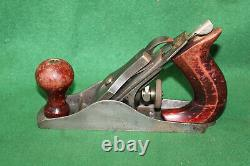 RARE & COLLECTIBLE Fulton No 3708 Size 2 Smooth Woodworking Bench Plane Inv#NY64