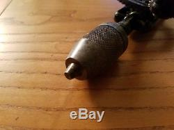 RARE Stanley 610 Pistol Sweetheart Eggbeater Drill Vintage USA Woodworking Tool