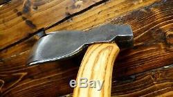 RAZOR SHARP vintage unmarked Kent pattern carving axe hatchet bushcraft woodwork