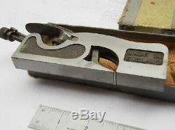 RECORD No 041 CABINET MAKER WOODWORK SHOULDER REBATE PLANE Boxed Little Used 41