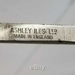 REDUCEDSET OF 6 WOOD CARVING TOOLS, ASHLEY ILES Ltd, ENGLAND. SUPER SET. UK