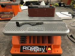 RIDGID Spindle Sander Oscillating Edge/Belt Woodwork Carpenter Bench Power Tool