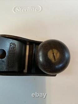 Rare Antique Stanley No. 1 Small Smoothing Plane Woodworking Tool 1892