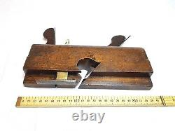 Rare Antique Wood Plane Dado J. Gleave 15 mm Grooving Woodworking Tools