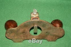 Rare Find JOSEPH DIMAN Open Throat 1/2 Router Woodworking Plane INV#LP11