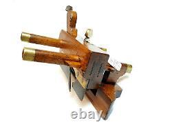 Rare Plough Plane Scots John Moseley Son Flit Plow Woodworking Tools