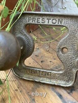 Rare Preston Router Plane 1399P Patent woodworking tool