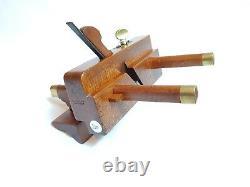 Rare Rebate Sash Fillister Plane John Moseley Son Rabbet Maker Woodworking