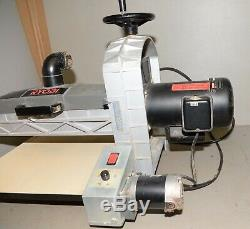 Rare Ryobi cantilevered drum sander WDS1600 woodworking board furniture tool