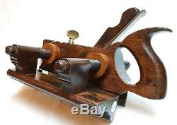 Rare Screw Stem Plough Plane Ohio Tool Co Plow Groove Collectable Woodworking