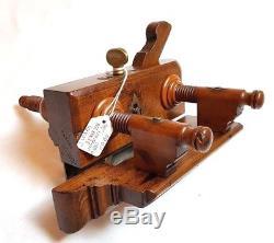 Rare Screwstem Plane Kimberley Plough Wood Plow Groove Patent 19943 Woodworking