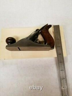 Rare Stanley No. 1 Small Smoothing Plane Woodworking Tool Sweetheart Excellent