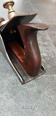 Rare Vintage Irish Shamrock Woodworking Plane Marples Ibbotson Iron