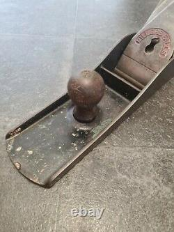 Rare Vintage Millers Falls No 24 (No 8 Size) Woodworking Plane