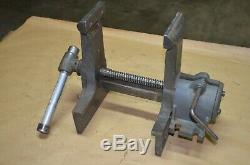 Rare Wilton Woodworkers Pattern Rotating Double Jaw Vise, 7 Jaws & 4 Jaws