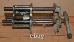 Rare Wilton corner angle woodworking vise collectible pattern makers tool V5