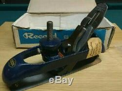 Record 020C Circular Compass Plane England Woodworking Tool NOS Like Stanley