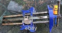 Record Model 53 Woodworking Vise 10 1/2 Jaws Weighs About 40 Lbs. Lot# 4