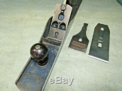 Record No 7 wood plane. Woodworking tools. Pre WW2. Carpentry tools