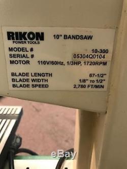 Rikon Power Tools 10 Bandsaw