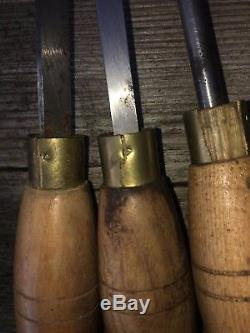 Robert Sorby Chisels Wood Working Turning HSS Lathe Tools