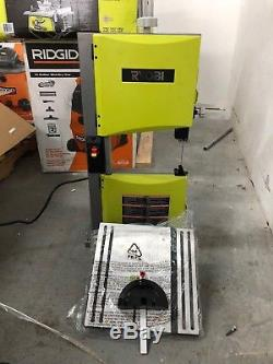 Ryobi BS904G 9 Band Saw Compact Woodworking Project Power Tool 2.5 Amp