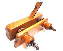Screw Fillister Rabbet Plane John Weiss & Sohn Wien Rebate Woodworking Tools