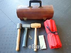 Set of wood and stone carving tools From France