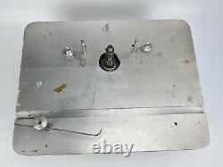 Shopmaster Shaper Router with Cutter Blades belt vintage woodworking tools USA
