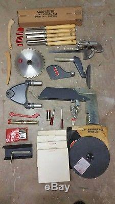 Shopsmith Mark V Complete System with Accessories Shop Smith Woodworking