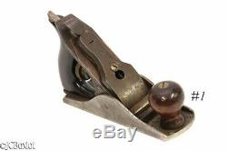 Small smoother plane MARSH M2 carpenter woodworking tool