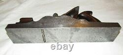Spiers Ayr Dovetailed Steel Rosewood infill Panel plane woodworking tool