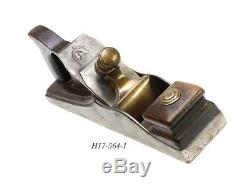 Spiers style WALNUT INFILL JACK PLANE woodworking TOOL sorby iron jcboxlot